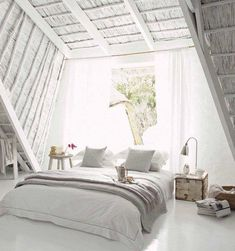 White a loft - loving the light