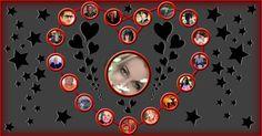 Kalp mozaik, 18 arkadaşlar!