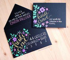 Mail art. Kirarina Wink Markers & Decorating Envelopes