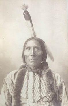"Native American - ""White Man"" - Kiowa - 1898"