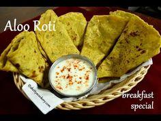 aloo roti recipe | healthy breakfast - aloo ki roti | soft roti recipe - YouTube