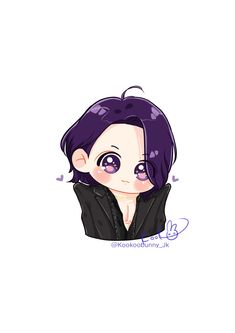 Bts Chibi, Anime Chibi, Kawaii Anime, Jungkook Fanart, Vkook Fanart, Jungkook Cute, Bts Drawings, Kawaii Drawings, Cartoon Drawings