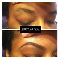 Clients Eyebrows - Before & After