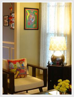 Blend and create style perfected (home tour). indian home interiorindian home decorindian inspired Indian Home Decor, Decor, Interior, Living Decor, Home Decor Online, Home Decor, House Interior, Room Decor, Home Decor Furniture