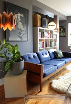 The World's Most Popular Bookcase: Best Uses of the IKEA Expedit via Apartment Therapy