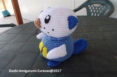 Nederlands haakpatroon Pokemon Oshawott - Tallsay.com