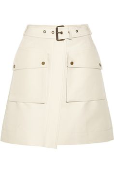 Belstaff|Medford cotton wrap skirt |NET-A-PORTER.COM