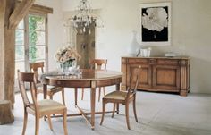 Rustic Dining Room Designs by Roche Bobois