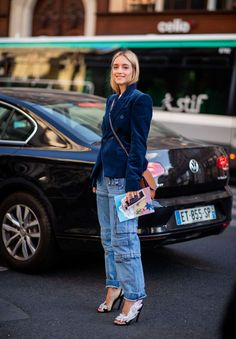 6062966ef9 La vuelta de los pantalones cargo- ElleSpain Pantalones Jeans De Moda