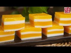 Learn Exactly how to make Chinese Food Treat No Bake Desserts, Just Desserts, Dessert Recipes, Chinese Cake, Chinese Food, Mango Mochi Recipe, Mochi Cake, Asian Desserts, Chinese Desserts