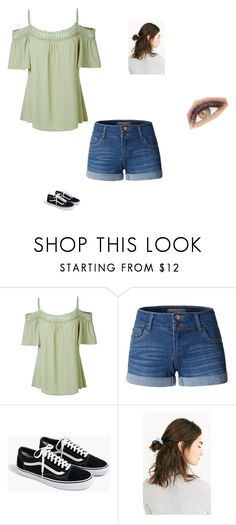 """Meeting Brian"" by maryvarleyrox on Polyvore featuring LE3NO, J.Crew, Urban Outfitters and Avon"