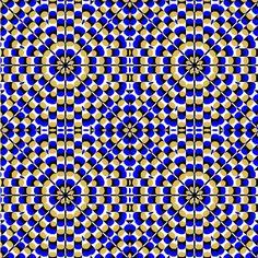 Peyote pattern for star of david Cool Optical Illusions, Art Optical, Op Art, Illusion Gif, Eyes Game, Eye Tricks, Magic Eyes, Peyote Patterns, Star Of David