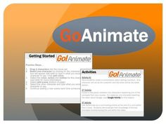 Animated Movies Lesson GoAnimate.com. • Engage your students with video • Animated Movies Made Easy • Excellent for a variety of subjects
