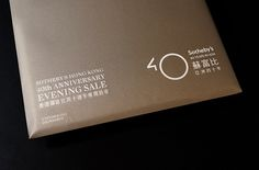 Sotheby's Hong Kong_40th Anniversary Evening Sale Broch on Behance