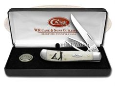 CASE XX Golf Gift Set Natural Bone Mini Trapper Stainless Pocket Knife - CA6022 | 6022 - 021205060224