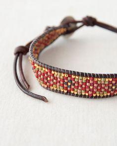 Rakuten CHAN LUU bracelet accessories (RED MIXNDKB red system): Lili et Nene