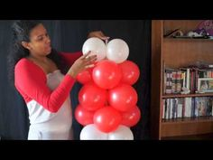 santa claus en globos - YouTube