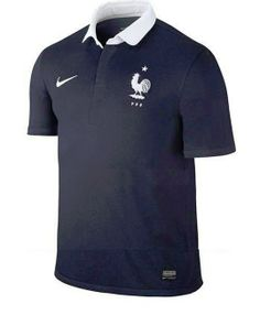 Les maillots de l'équipe de France de football