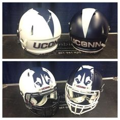UConn - Navy, white