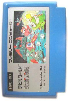 Devil World - Label or Box Art #nintendo games #gamer #snes #original #classic #pin #synergeticideas #gameon #play #award