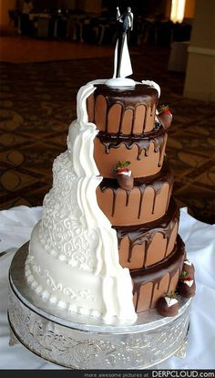 Bride / Groom cake.