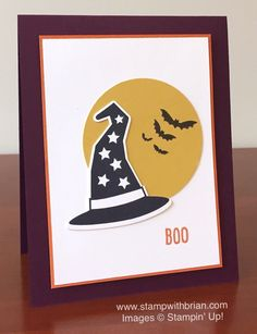 Howl-o-ween Treat, Witches' Night, Happy Scenes, Stampin' Up!, Brian King…
