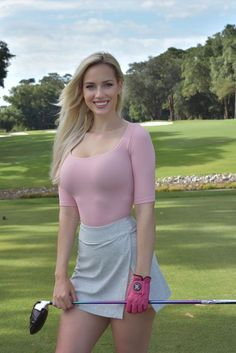 Paige Spiranac - Repices X Sexy Golf, Girls Golf, Ladies Golf, Golf Skirts, Mini Skirts, Golf Mk1, Sporty Girls, Jolie Photo, Athletic Women
