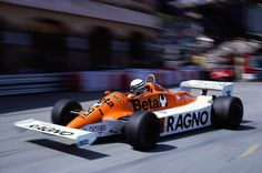 Riccardo Patrese Arrows - Ford Monaco 1981