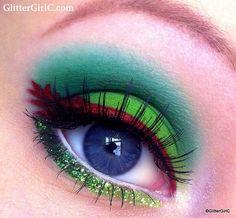 Peter pan inspired makeup