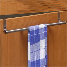Edelstahl Handtuchhalter Handtuchstange zum Einhängen - 40 cm: Amazon.de: Küche & Haushalt