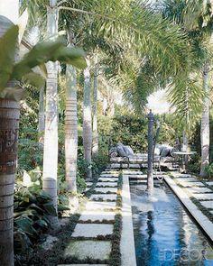 Tropical Treat - ELLE DECOR Renny's FL house
