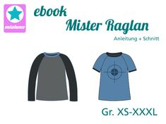 Ebook Raglanshirt Mister Raglan Gr. XS-XXXL