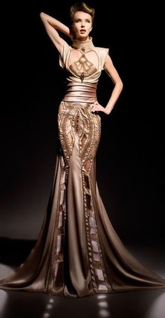 FOR THE BACK Blanka Matragi ~Latest Luxurious Women's Fashion - Haute Couture - dresses, jackets. bags, jewellery, shoes etc Beautiful Gowns, Beautiful Outfits, Simply Beautiful, Absolutely Gorgeous, Elegant Dresses, Pretty Dresses, Elegant Gown, Awesome Dresses, Couture Fashion