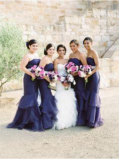 Purple Wedding Ideas - Pretty in Purple / A Wedding at Sunstone Winery by Magnolia Event Design via StyleUnveiled.com
