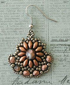 Linda's Crafty Inspirations: Dana's Gypsy Earrings - Lots of sample earrings