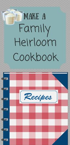 To make a family heirloom cookbook is a decision that could greatly enrich the food aspect of your loved ones now, and for several generations to come. Homemade Recipe Books, Homemade Cookbook, Cookbook Recipes, Cookbook Ideas, Making A Cookbook, Create A Cookbook, Recipe Book Templates, Cookbook Template, Family Recipe Book