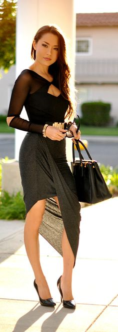 ✿That Little Black Dress `✿⊱╮ *Turning Up the Fire by Hapa Time*