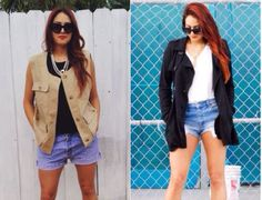 Which outfit do you prefer? Click on the photo to vote.