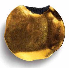 Daniel Brush, Palm Piece,  Steel & Pure Gold