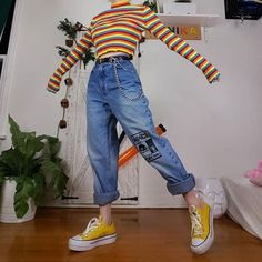 teenager outfits for school cute ~ teenager outfits . teenager outfits for school . teenager outfits for school cute Diy Outfits, Retro Outfits, Cute Casual Outfits, Vintage Outfits, Summer Outfits, 80s Style Outfits, Vintage Fashion, Outfits Hipster, Artsy Outfits