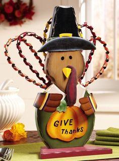 Give Thanks Turkey Greeter Thanksgiving Decoration By Collections Etc, http://www.amazon.com/dp/B008OMN562/ref=cm_sw_r_pi_awdm_P2lJsb1J44T1X