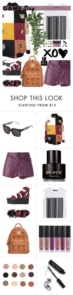 """Game Day Outfit"" by karla786 ❤ liked on Polyvore featuring McQ by Alexander McQueen, STELLA McCARTNEY, Drome, Kenneth Cole, Pierre Hardy, Alexander Wang, MCM, Anastasia Beverly Hills and Bobbi Brown Cosmetics"