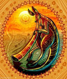 Didgeridoo by Rita Shumakina