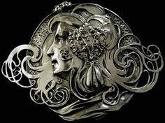 Piel Freres 1855 - 1925 | Art Nouveau, Belt Buckles ...