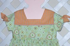 "Children's Corner ""Kinsey"" in Fabric Finders Print"