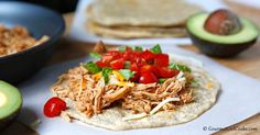 Gourmet Girl Cooks: Soft Chicken Tacos Made with Grain Free Soft Tacos - NEW RECIPE