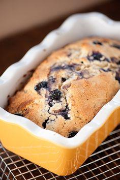 Glazed blueberry muffin bread recipe