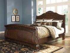 Кровать в виде саней King Size North Shore, Ashley King Platform Bed Frame, California King Platform Bed, Sleigh Bed Frame, Bedroom Paint Colors, Cozy Bedroom, Bed Sheets, Bedroom Furniture, Sunshine, Room Ideas