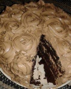 Baking Recipes, Cookie Recipes, Dessert Recipes, Desserts, Kos, Tasty Chocolate Cake, Baking Chocolate, Crazy Cakes, Cheesecake Cake