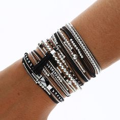 """POIGNET LOVE AND ROCK - BRACELETS/Nos """"poignets d'amour"""" - DORIANE Bijoux- Tap the link now to see our super collection of accessories made just for you!"""